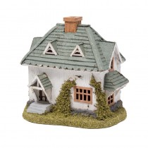 House Green Shingle Roof