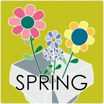 Lottery Box with Assorted Spring Items