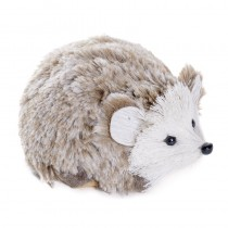 Hedgehog Gray Fur 4.5""