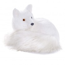 Fox White Fur Lying 7""