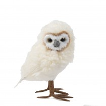 """Owl White Fur/Feather 8"""""""