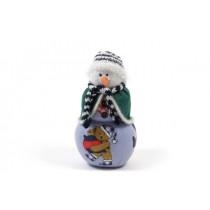 "Snowman Beaded w/Scarf 7"""
