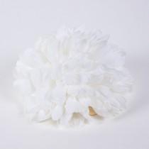 """Mum White Silk 4"""""""