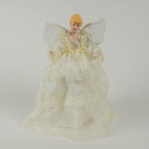 Angel w/Beige Lace 12""